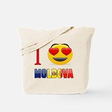 I love Moldova Tote Bag