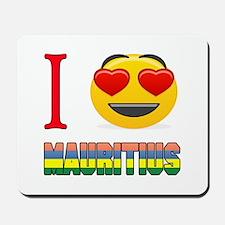 I love Mauritius Mousepad