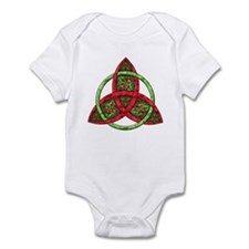Celtic Holiday Knot Infant Bodysuit