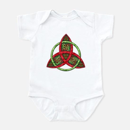 Celtic Holiday Knot Infant Bodysuit