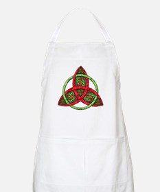 Celtic Holiday Knot BBQ Apron