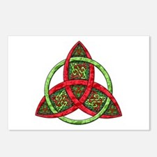 Celtic Holiday Knot Postcards (Package of 8)