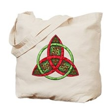 Celtic Holiday Knot Tote Bag