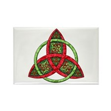 Celtic Holiday Knot Rectangle Magnet