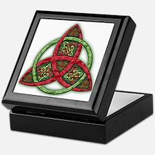 Celtic Holiday Knot Keepsake Box