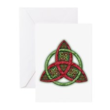 Celtic Holiday Knot Greeting Cards (Pk of 10)