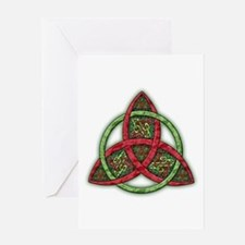 Celtic Holiday Knot Greeting Card