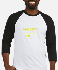 MALLETT thing, you wouldn't unders Baseball Jersey
