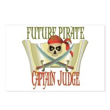 Captain Judge Postcards (Package of 8)