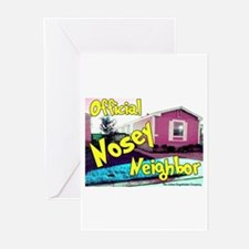 Official Nosey Neighbor Greeting Cards (Package of