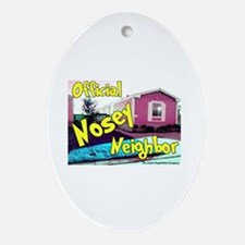 Official Nosey Neighbor Keepsake (Oval)