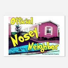 Official Nosey Neighbor Postcards (Package of 8)