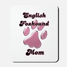 English Fox Mom3 Mousepad