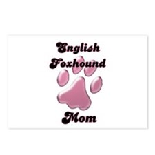 English Fox Mom3 Postcards (Package of 8)
