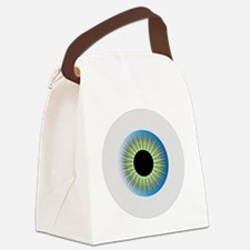 Unique Optical Canvas Lunch Bag