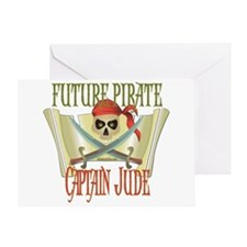 Captain Jude Greeting Card