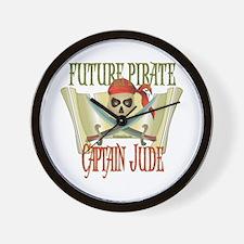 Captain Jude Wall Clock
