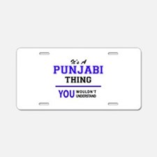 It's PUNJABI thing, you wou Aluminum License Plate