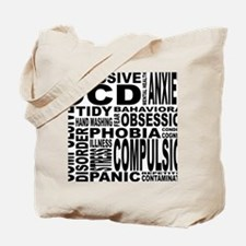 Cute Anxiety disorders Tote Bag