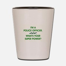 POLICE OFFICER Shot Glass