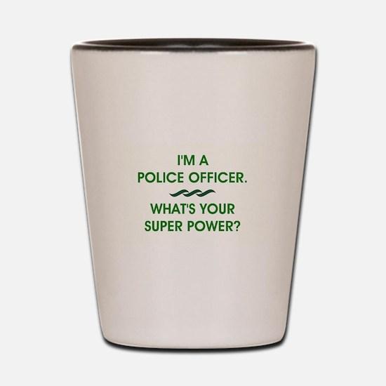 POLICE OFFICER Shot Glass