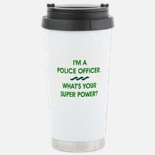 POLICE OFFICER Travel Mug
