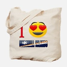 I love Marshall Islands Tote Bag