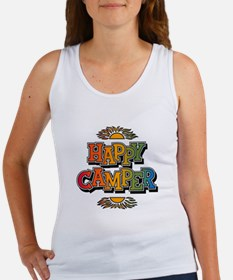 Happy Camper Retro Rainbow Tank Top