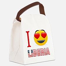 I love Liberia Canvas Lunch Bag