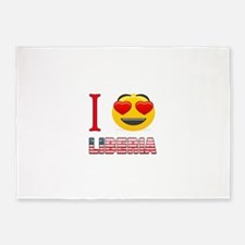 I love Liberia 5'x7'Area Rug