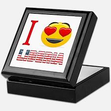 I love Liberia Keepsake Box
