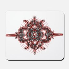Design 3 red & gray Mousepad