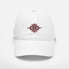 Design 3 red & gray Baseball Baseball Cap