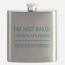 I'M NOT BALD. Flask
