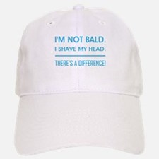 I'M NOT BALD. Baseball Baseball Cap