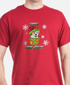 Holiday Westie T-Shirt