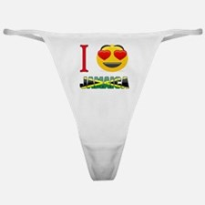 I love Jamaica Classic Thong