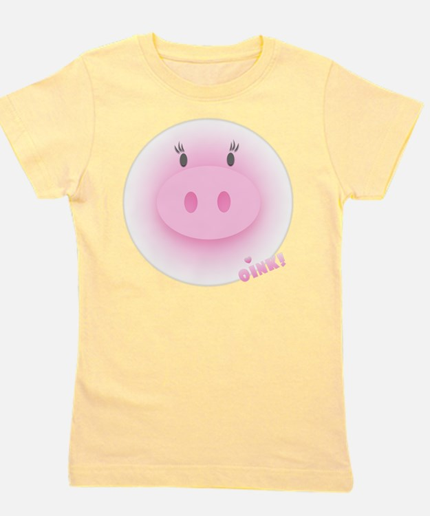 Cute Pork fat Girl's Tee
