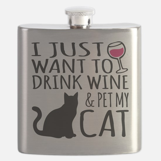 Funny Funny cat Flask
