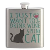 Cat Flask Bottles