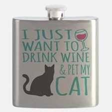 Cute Cat Flask