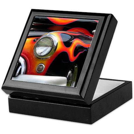 Cars & Flames Keepsake Box