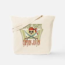 Captain Jovan Tote Bag