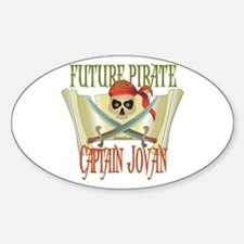 Captain Jovan Oval Decal