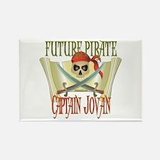 Captain Jovan Rectangle Magnet