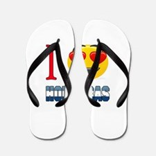 I love Honduras Flip Flops