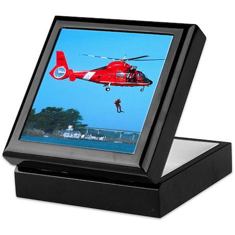 Coast Guard Chopper Keepsake Box
