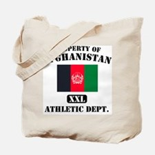 Property of Afghanistan Athle Tote Bag