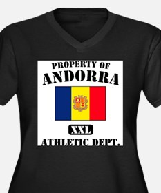 Property of Andora Athletic D Women's Plus Size V-