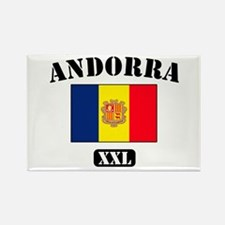 Property of Andora Athletic D Rectangle Magnet